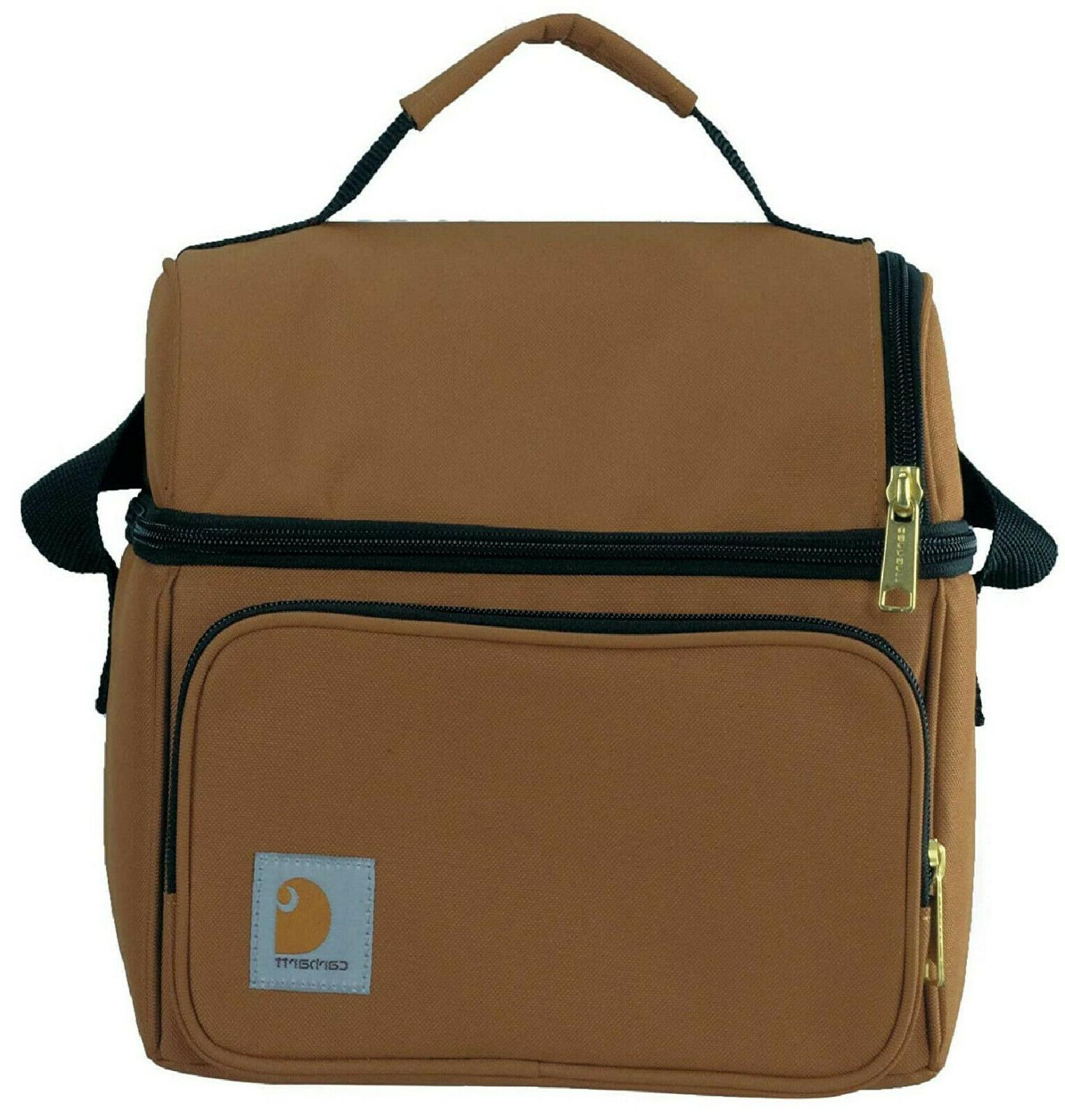 Deluxe Lunch Cooler Traveling Brown