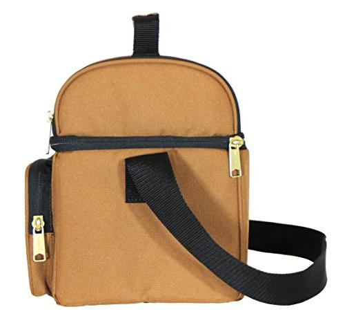 Carhartt Deluxe Compartment Insulated Lunch Cooler Bag,