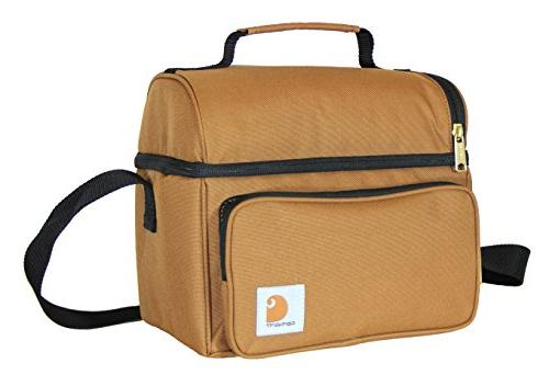 Carhartt Deluxe Dual Compartment Insulated Lunch Black