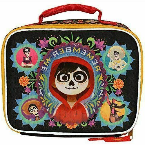 disney pixar coco insulated lunch bag lunch