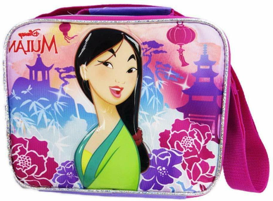 disney princess mulan insulated lunch box