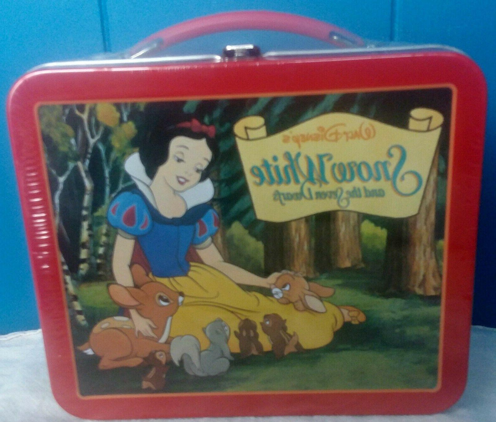 disney sealed little metal lunch box school