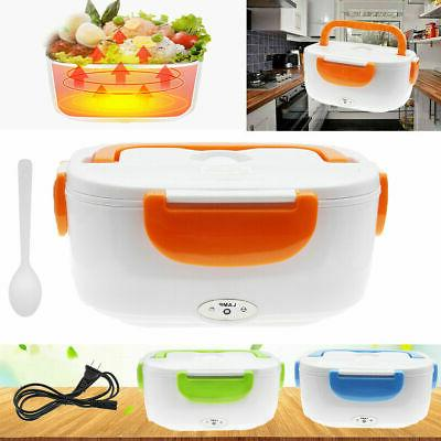 Electric Heated Heating Lunch Box Travel Food 110V