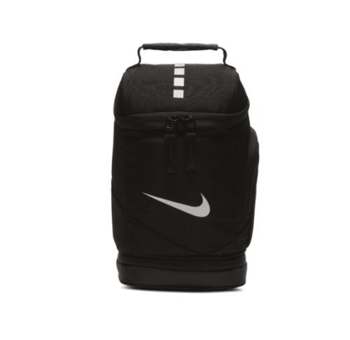 elite black insulated lunch box fuel pack