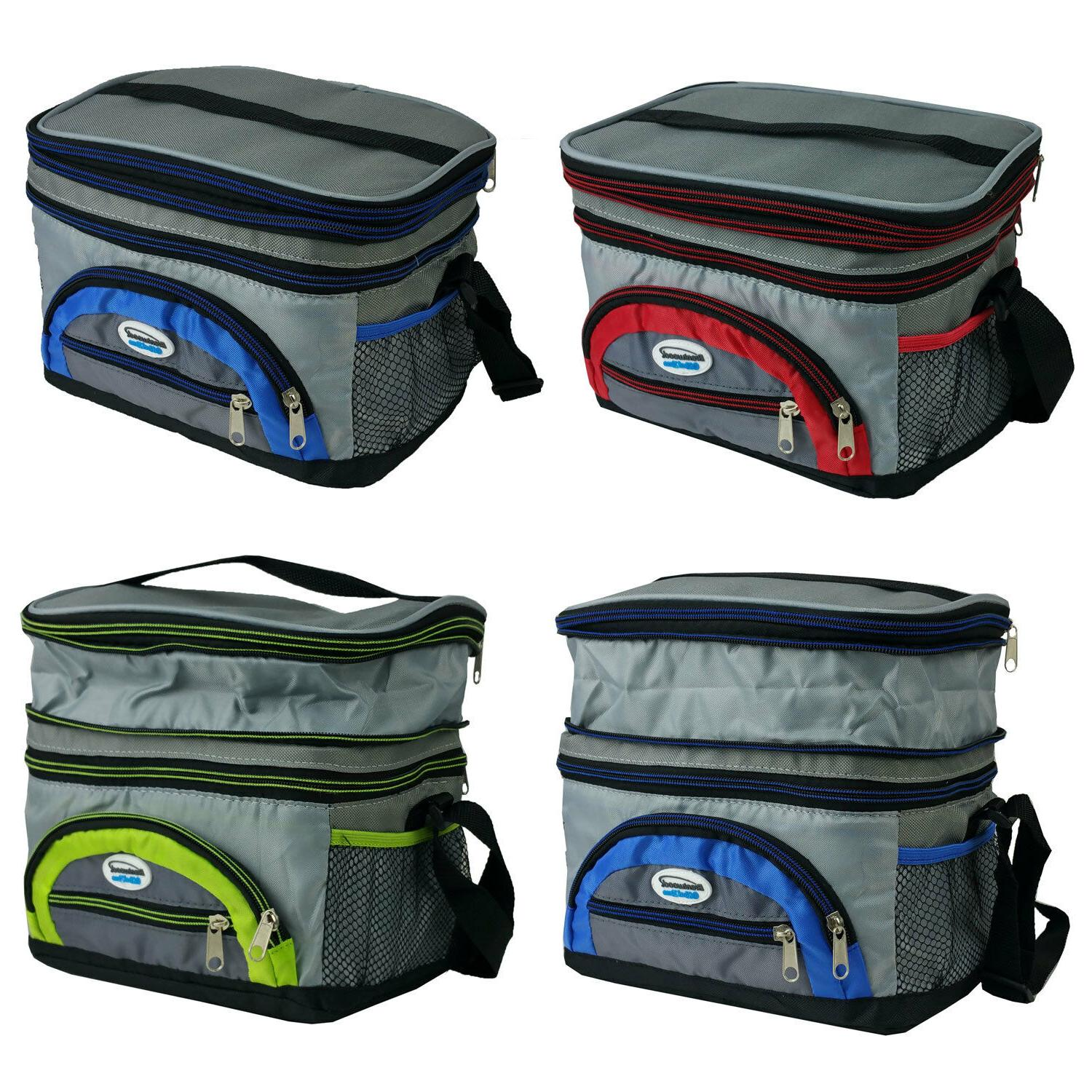 Expandable Thermal Bag School Work Lunch Box Colorful