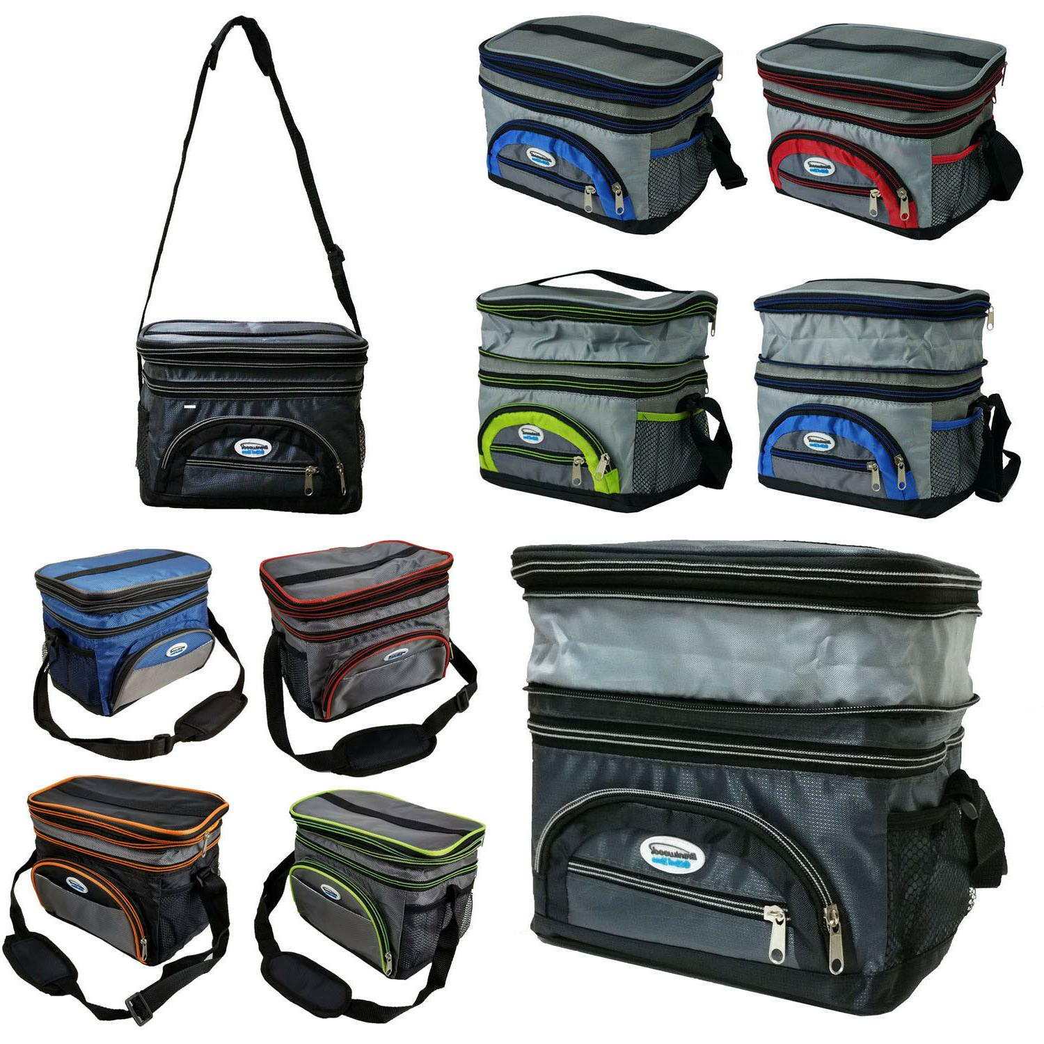 Expandable Thermal Travel Bag School Work Insulated Lunch