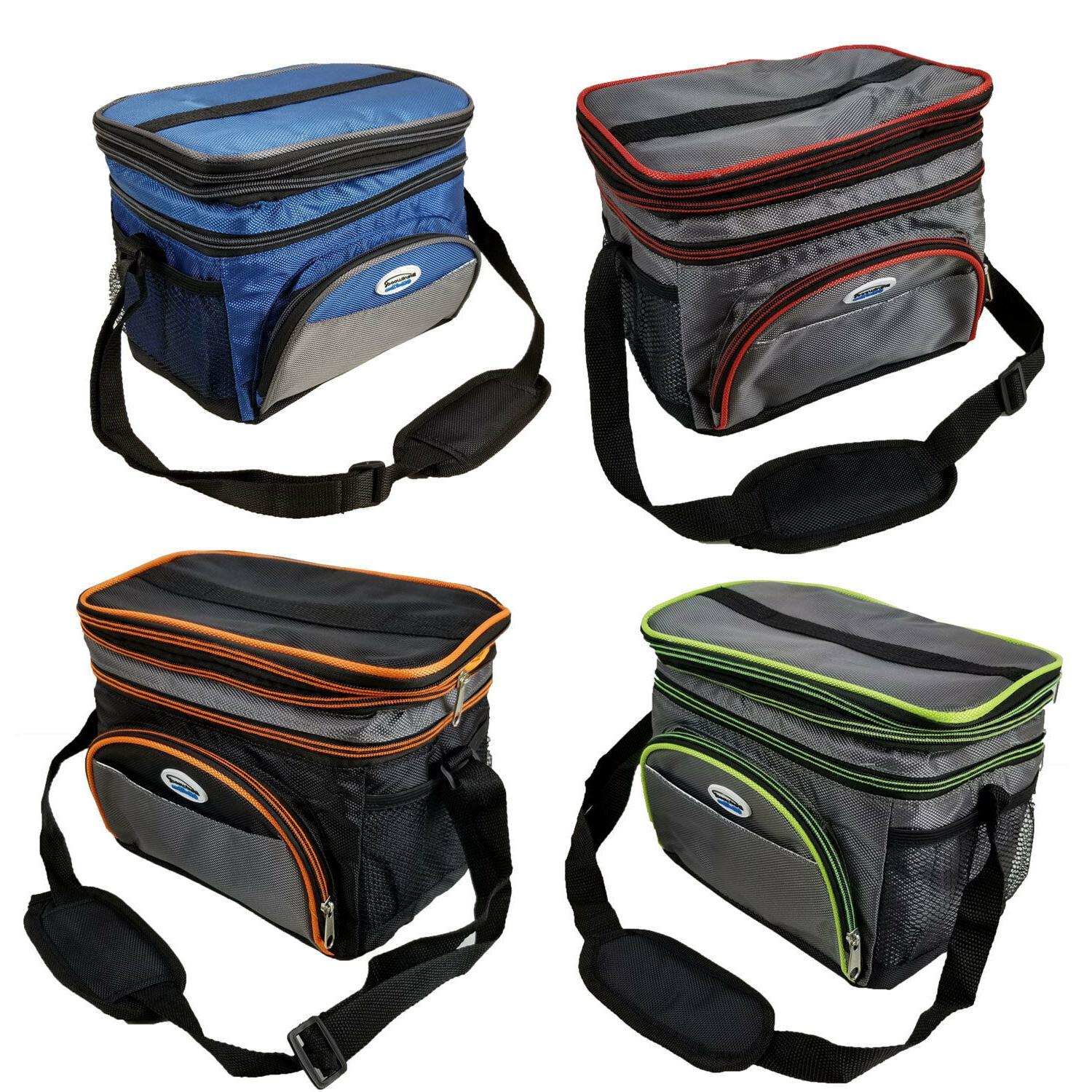 Expandable Thermal Travel Lunch Bag School Work Insulated