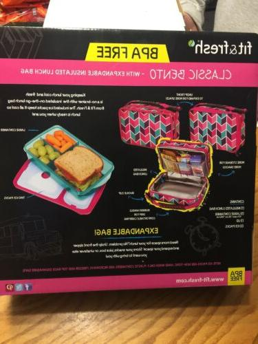 Fit Lunch Box Insulated Bag Ice