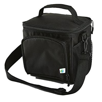 Fit & Fresh Small Cooler Bag & Lunch Box, Insulated  with Ad