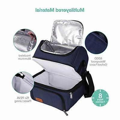 Sable Adult Lunch Work Reusable Warm Tote Me...