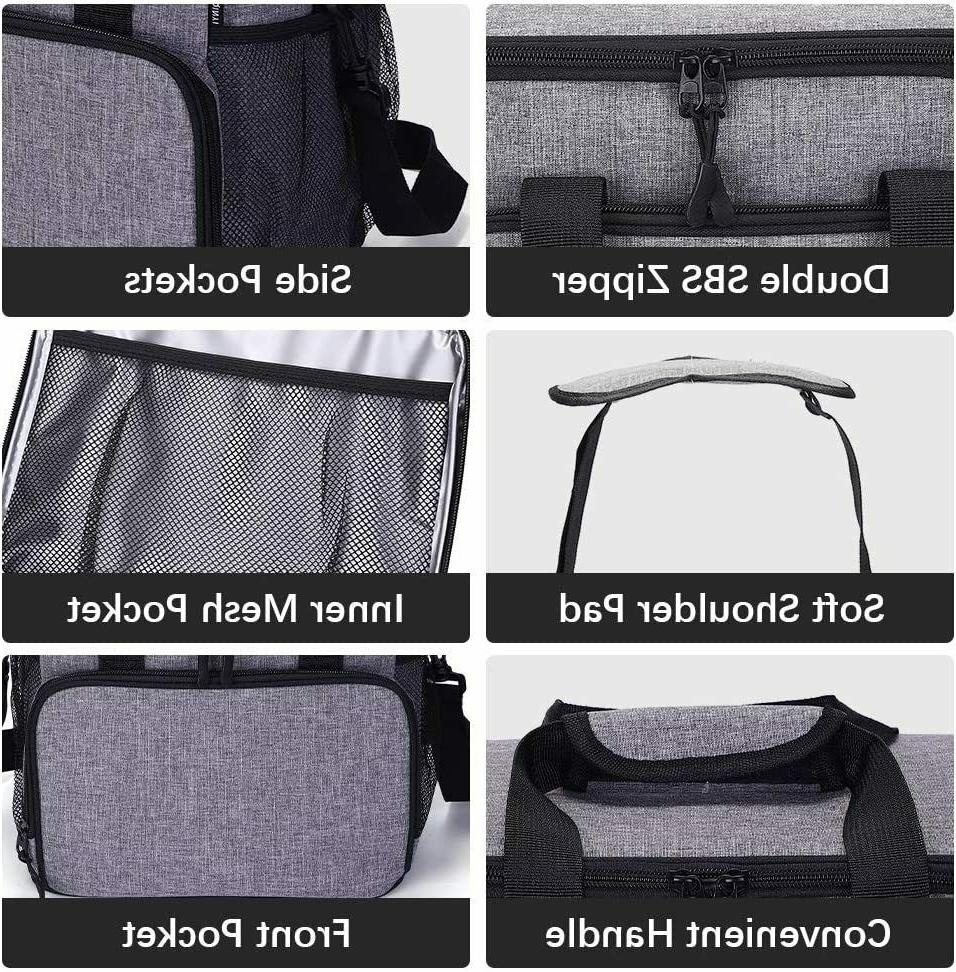 Insulated Lunch Tote Thermal Lunch Thermos Cooler Men