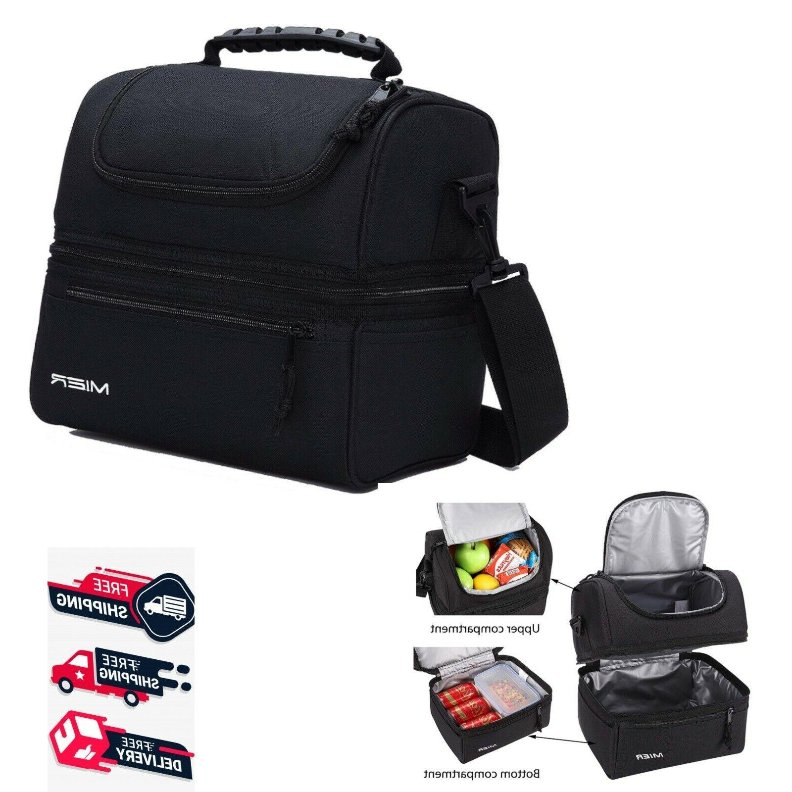 insulated large cooler bag lunch box leakproof