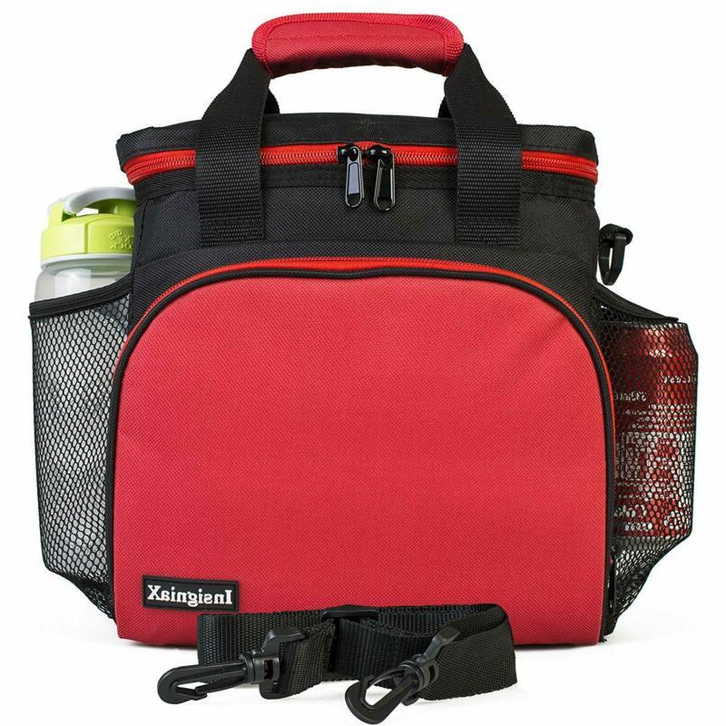 Insulated Bag: InsigniaX Adult Box For Work, Men, Adjusta