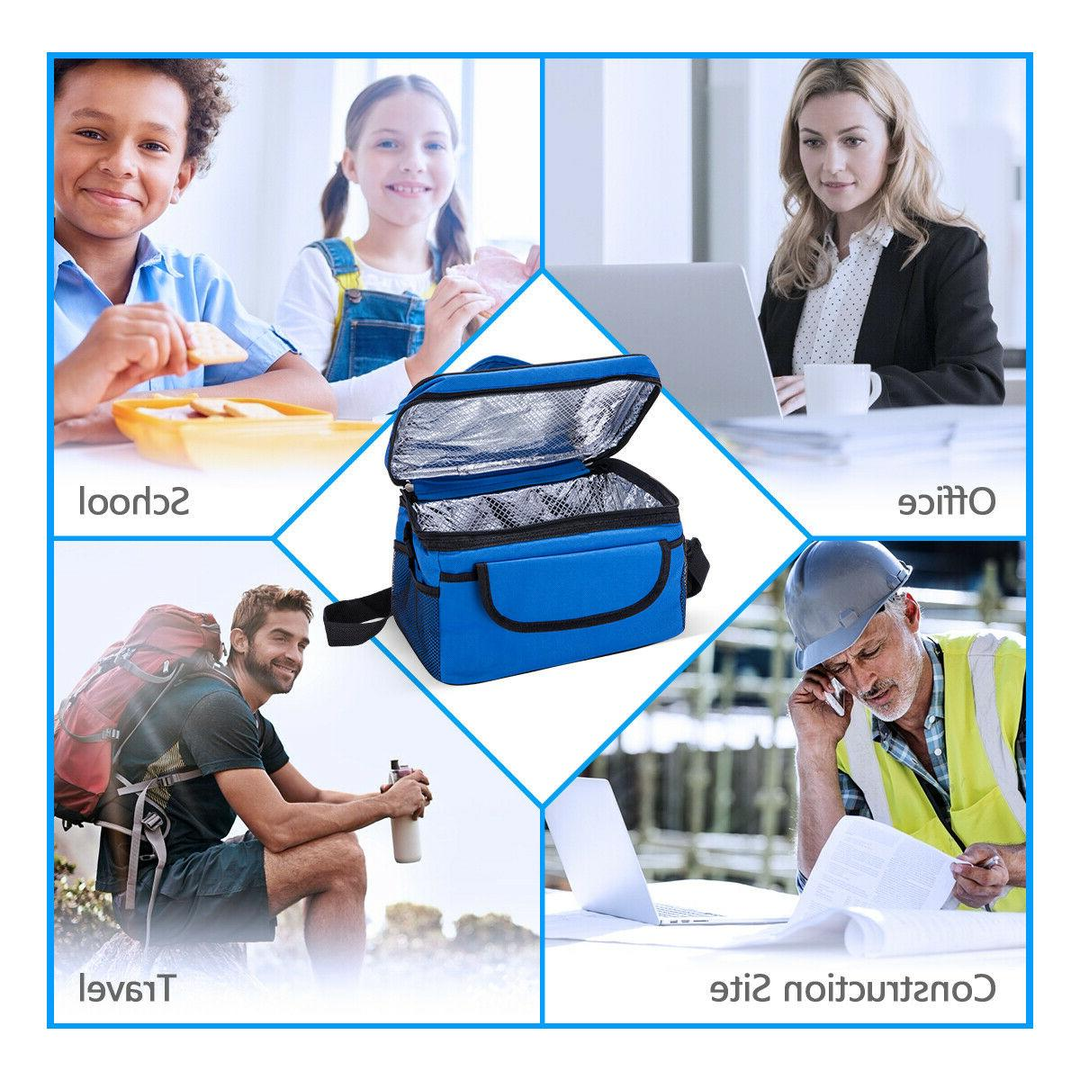 Insulated Lunch Bag for Office Cooler Cold