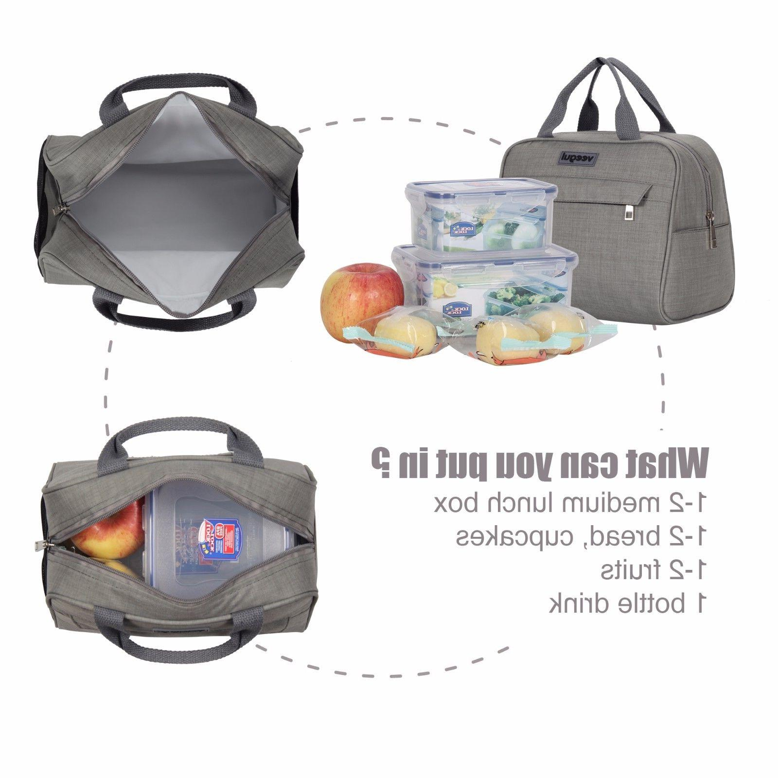 Insulated Lunch Prep Lunch Tote For