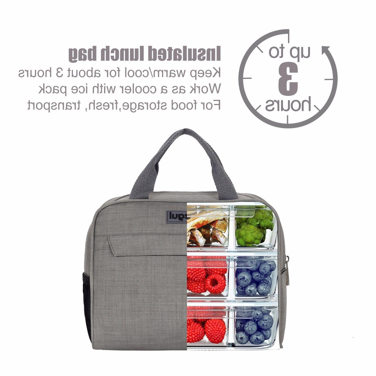Insulated Lunch Bag Prep For
