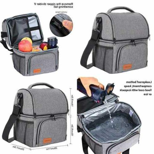 insulated lunch bag for men large box