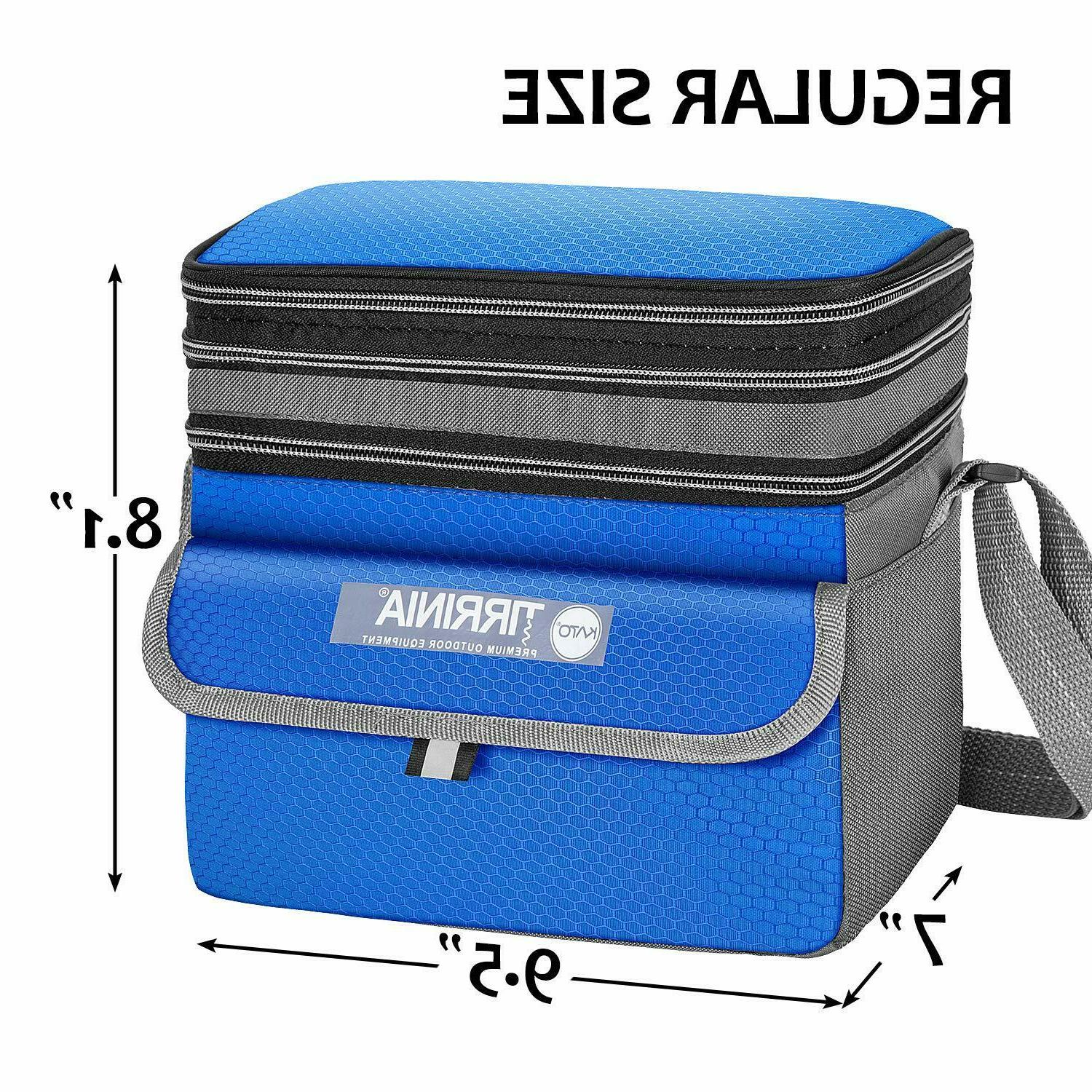 Expandable Reusable Lunch Box for Adult & Kids New