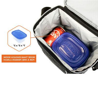 Insulated Lunch Box for Work School Leakproof