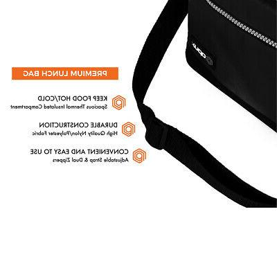 Insulated Bag Lunch Box School Women Leakproof