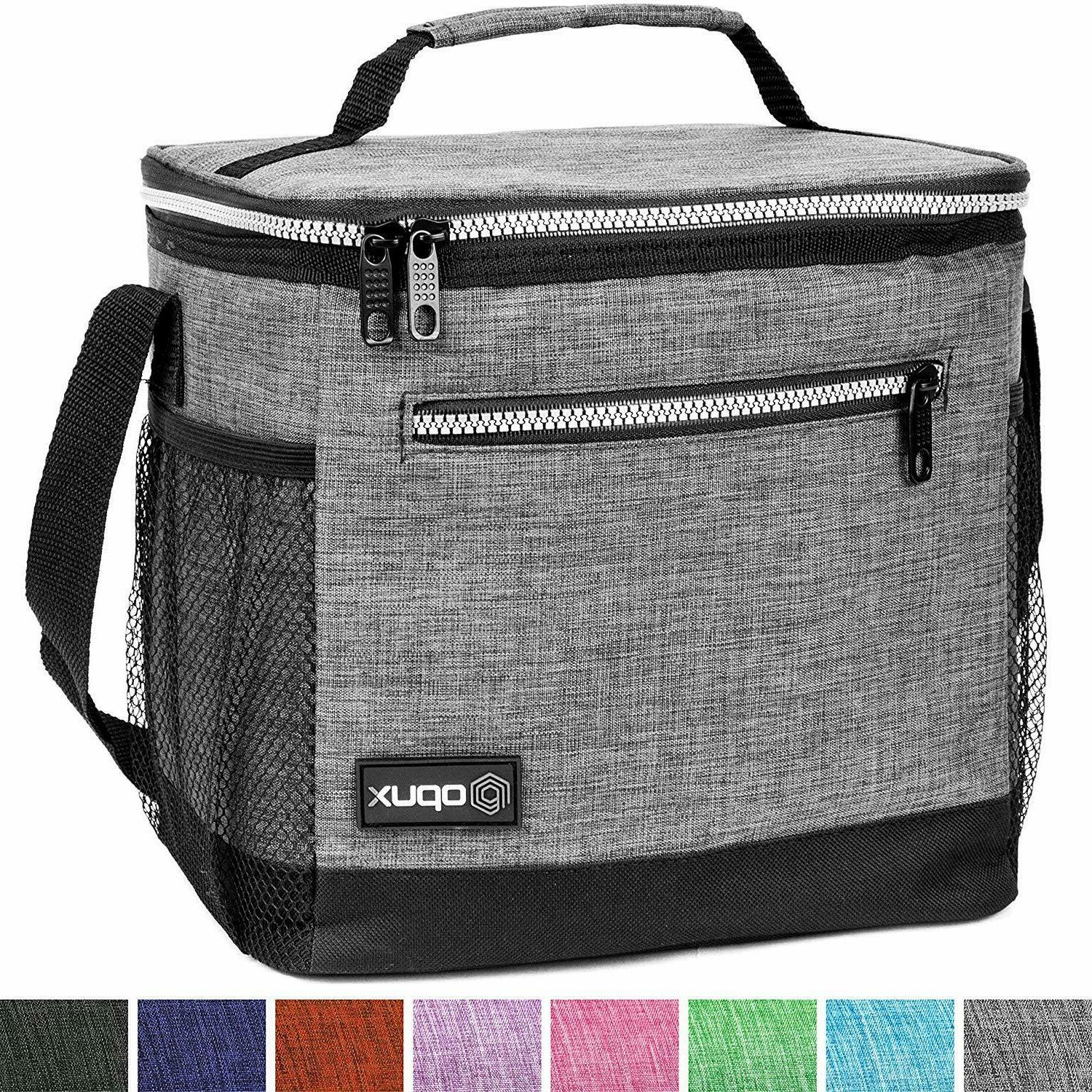 Insulated Lunch Bag Adult Lunch Box School Men Leakproof