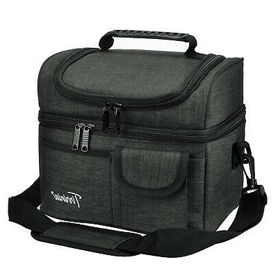 insulated lunch bag totes cooler container 2