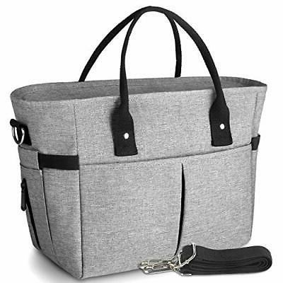 insulated lunch bags for women large tote