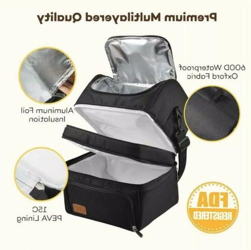 Sable Insulated Lunch 22L Capacity Reusable Waterproof