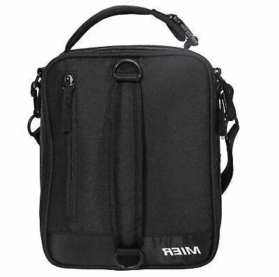 MIER Insulated Box Bag Expandable Lunch for Men, Kids,