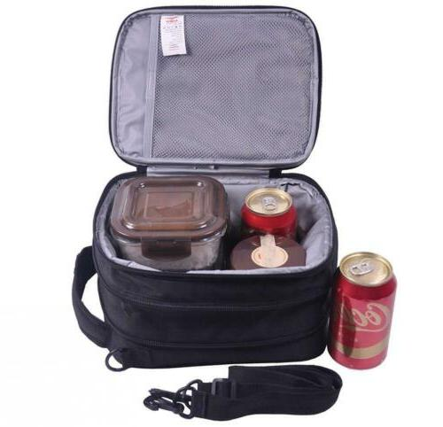MIER Insulated Lunch Bag Expandable Men,