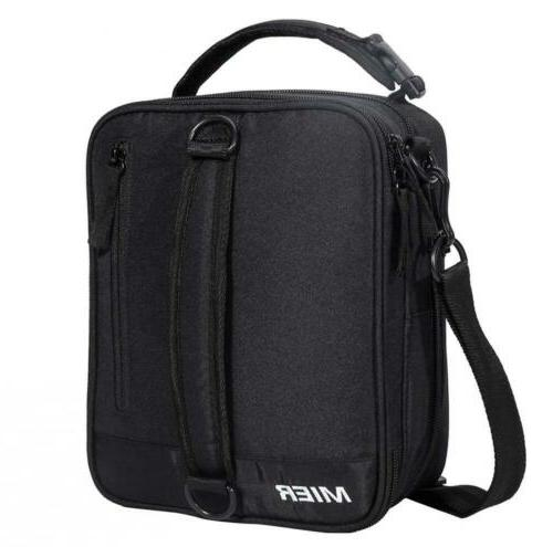 insulated lunch box bag expandable pack