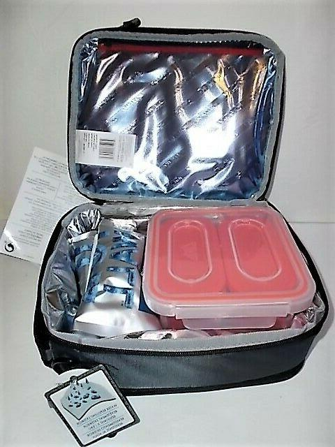 ARCTIC INSULATED BOX 3 PLASTIC CONTAINERS 2 ICE