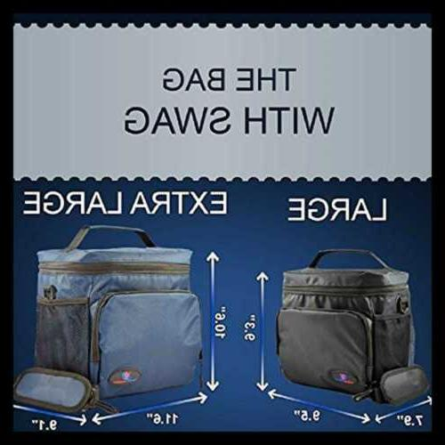 Insulated Lunch Box Adults LARGE By Non