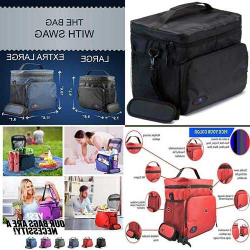 insulated lunch box for men cooler bag