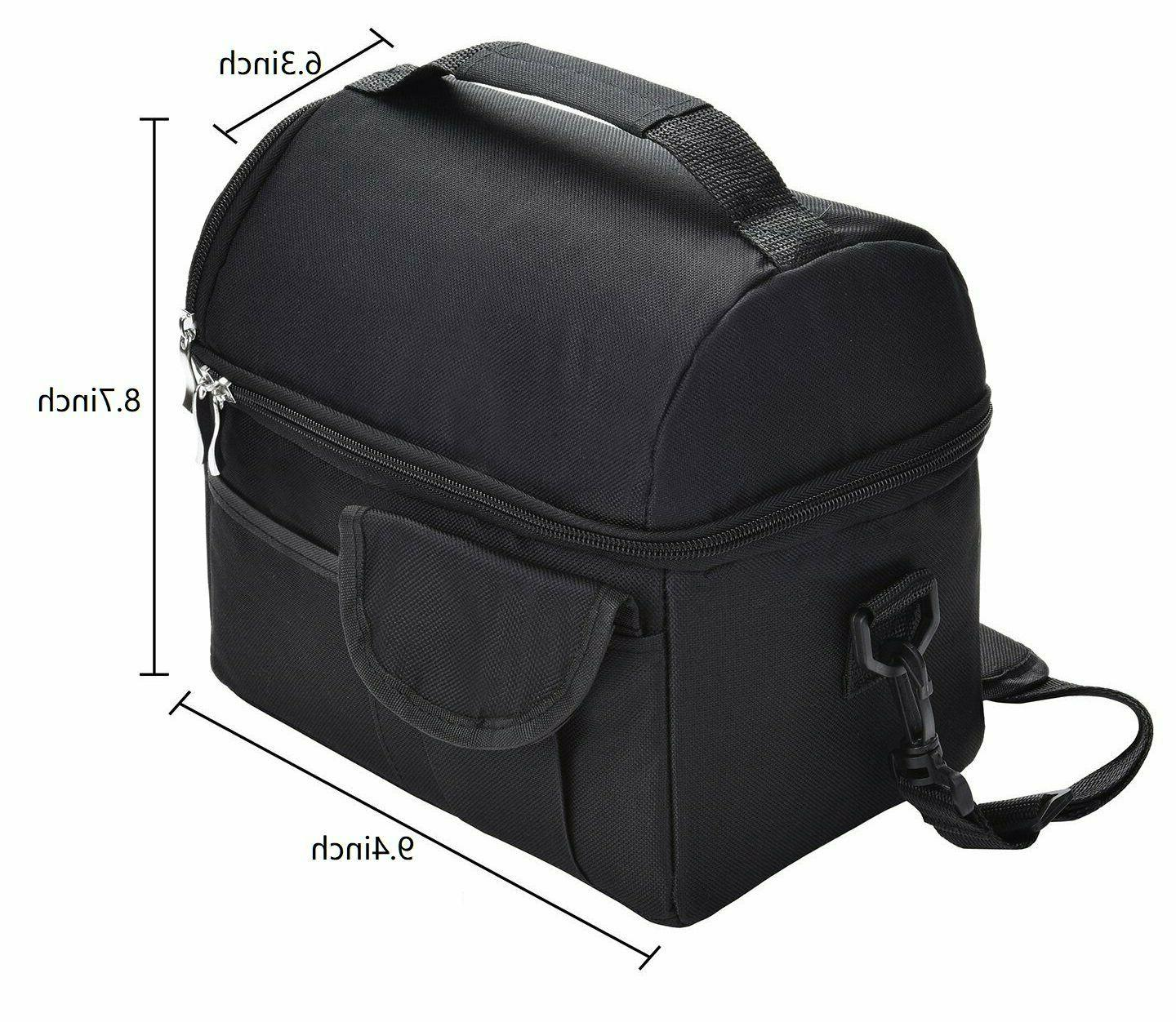 Insulated Lunch Bag Travel Men Adult Thermal