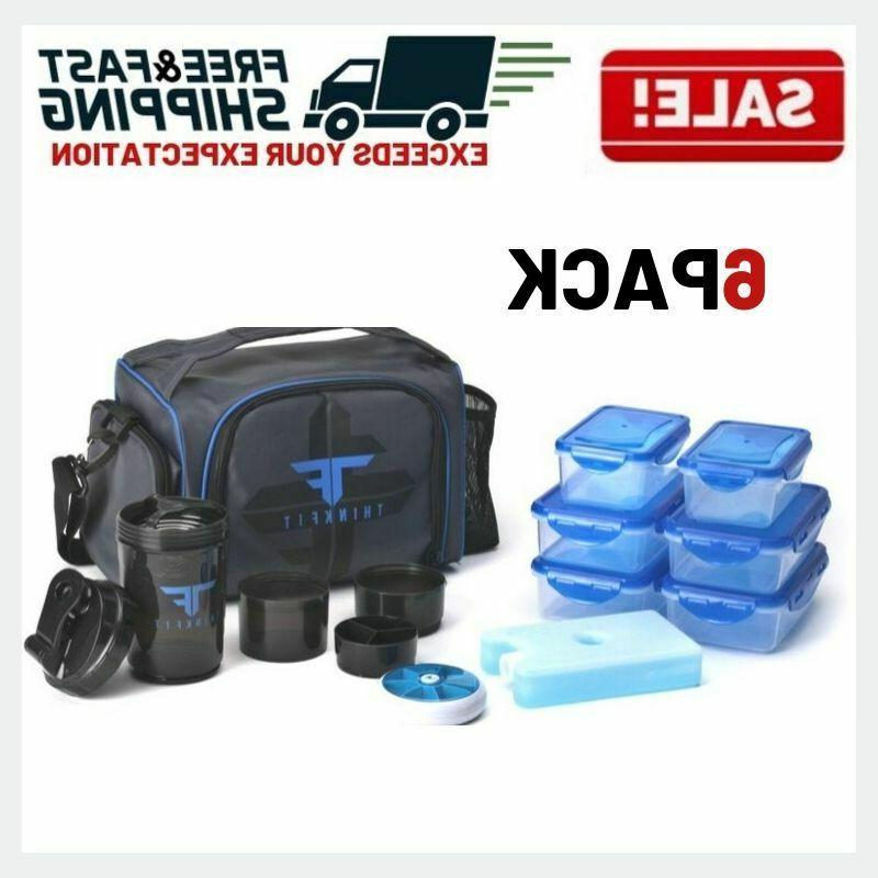 insulated meal prep lunch box food storage