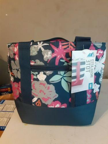 Arctic Zone Insulated Tote Floral Lunch
