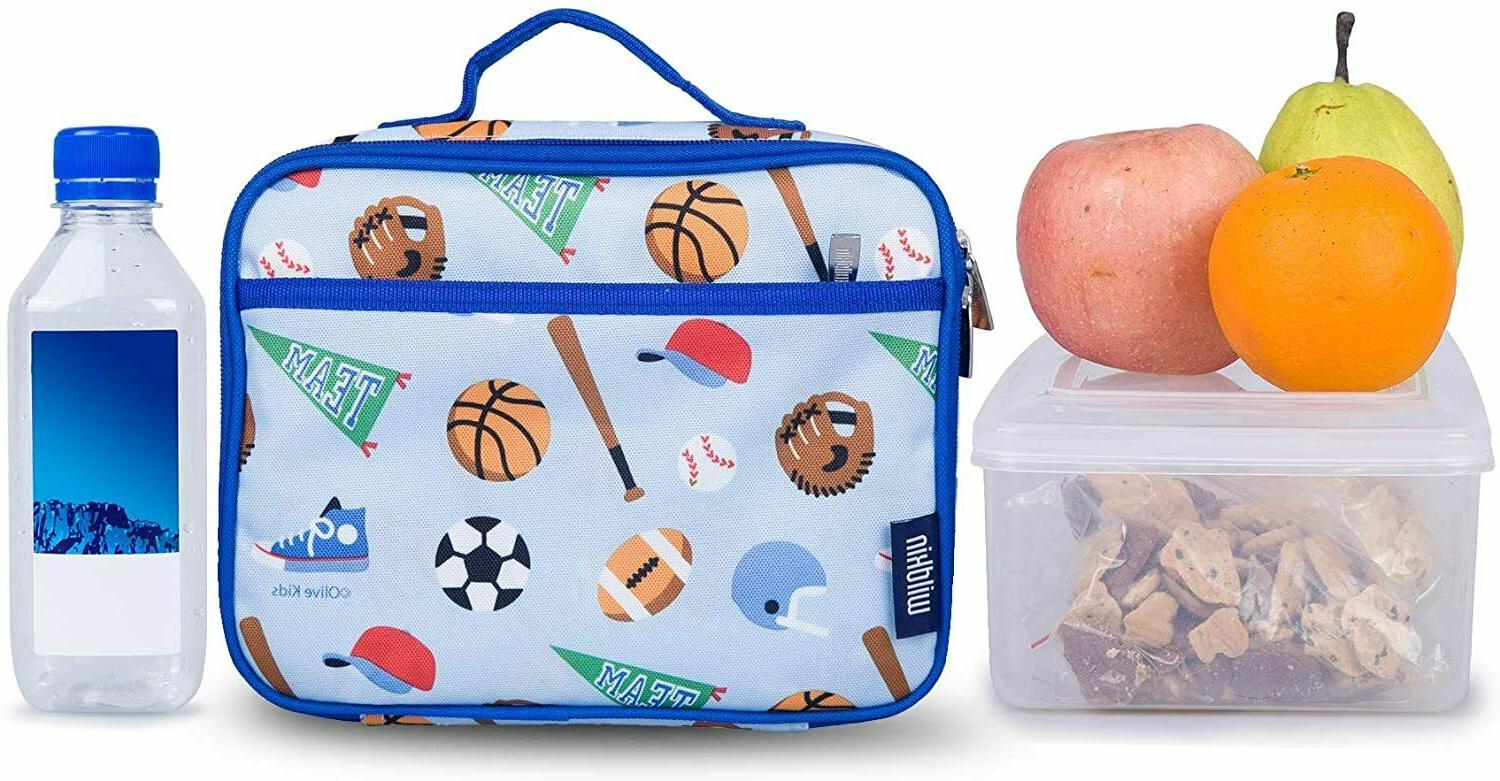 Wildkin Kids Insulated Lunch Box for Boys