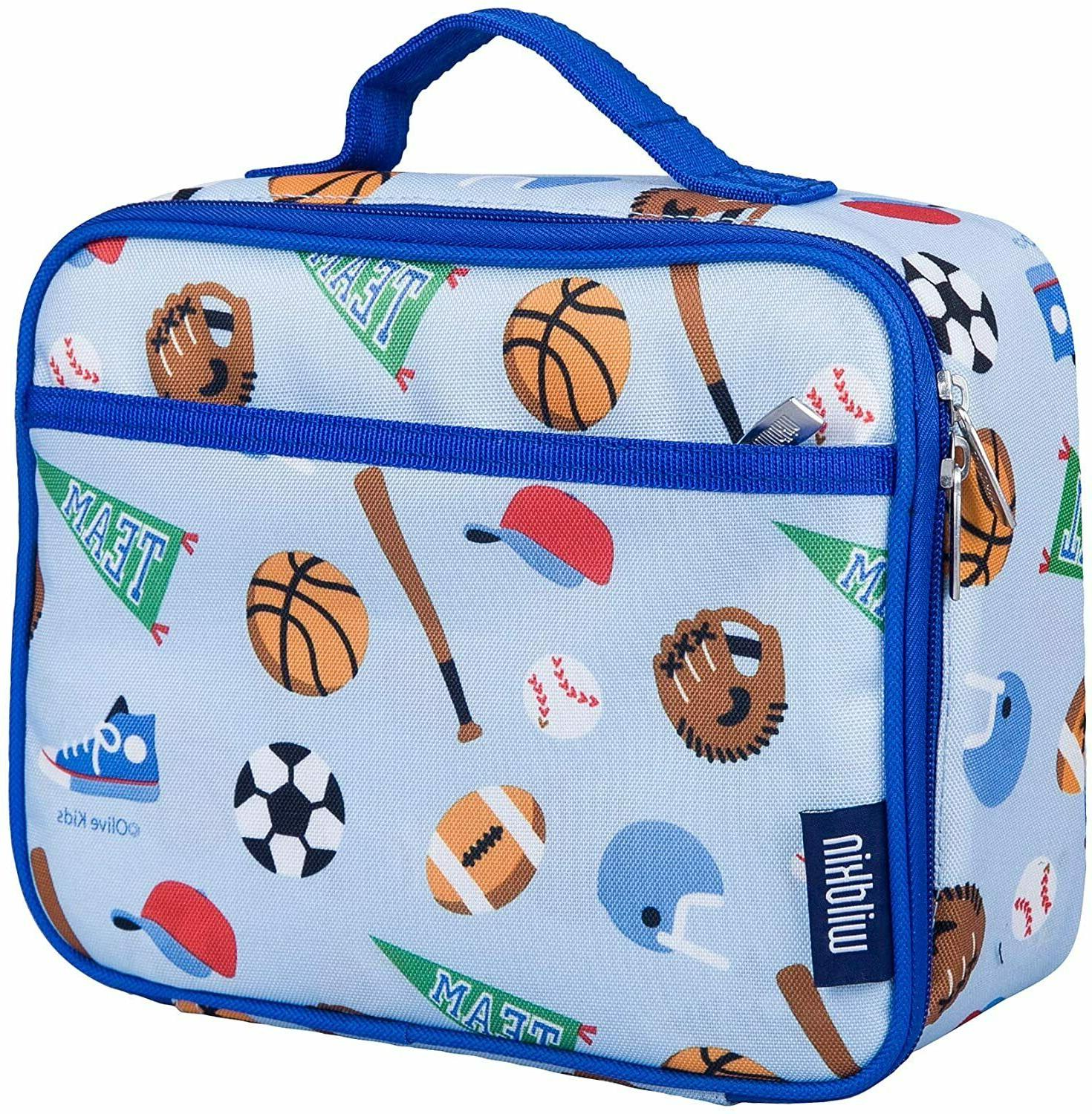 kids insulated lunch box for boys