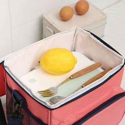 Insulated Lunch Cooler Lunch Box Bag Women