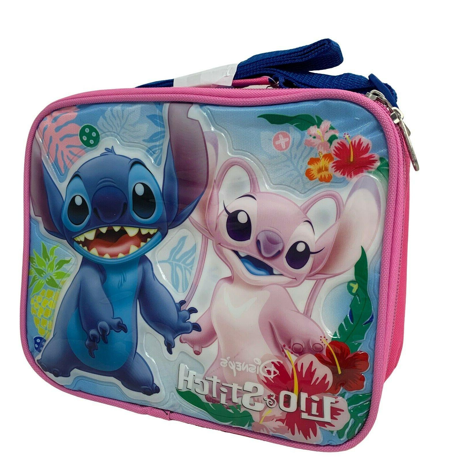lilo and stitch insulated lunch bag