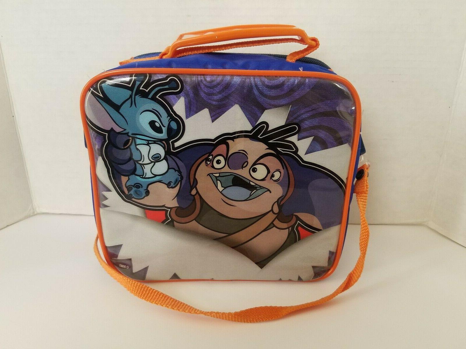 Lilo and Lunchbox and Sippy Lunchbag Blue