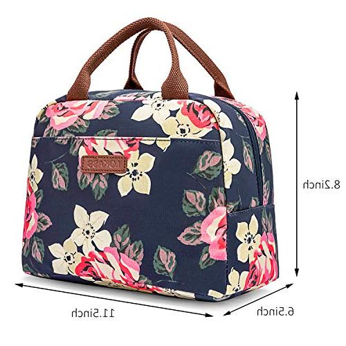 LOKASS Lunch Bag Bag Insulated Box Leak Proof Liner