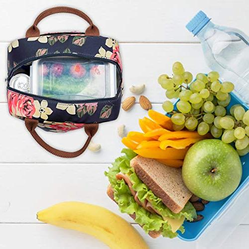 LOKASS Cooler Bag Women Bag Insulated Lunch Thermal Bag Bags women/Picnic/Boating/Beach/Fishing/School/Work
