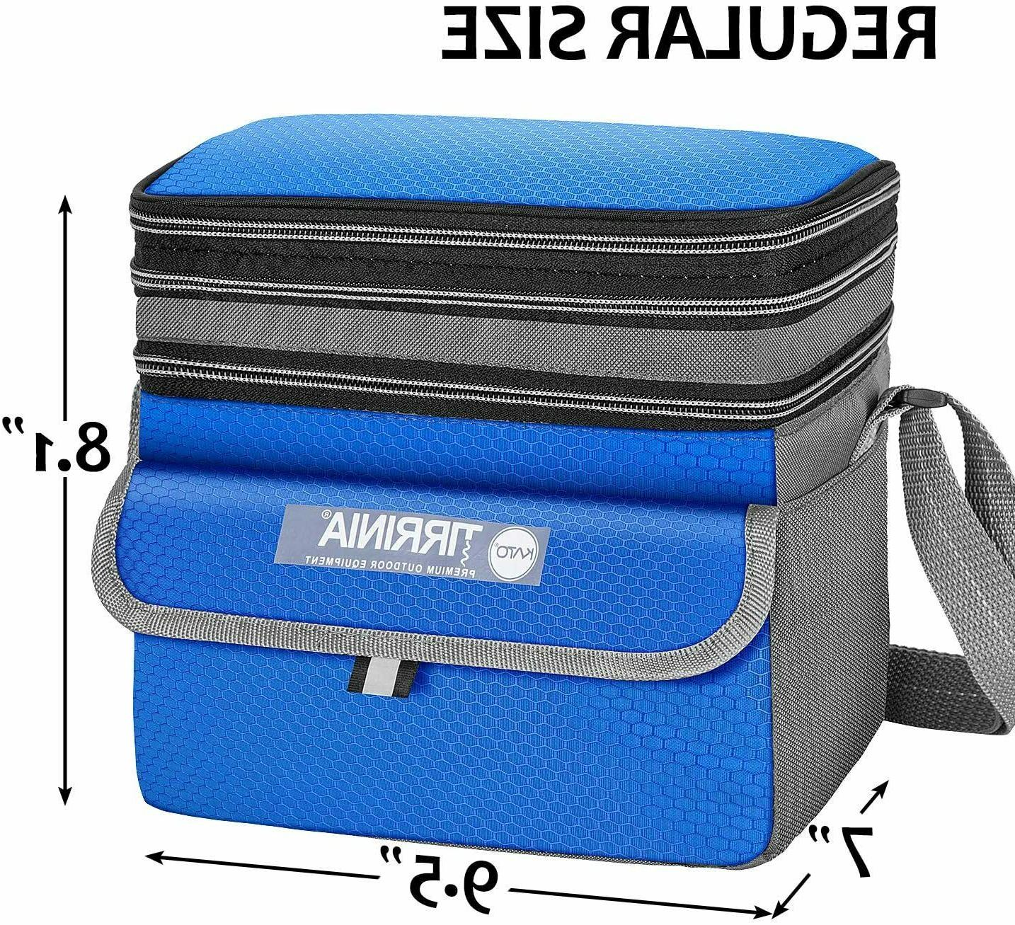 Lunch Men,Leakproof Lunch for Adult&Kids, Cooler
