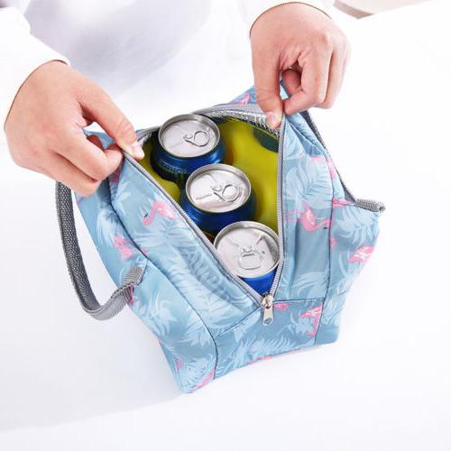 Lunch Insulated Women Tote Travel Picnic Carry Girls Bag