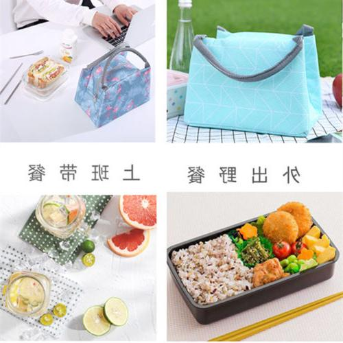 Lunch Tote Thermal Box Cooler Travel Bag