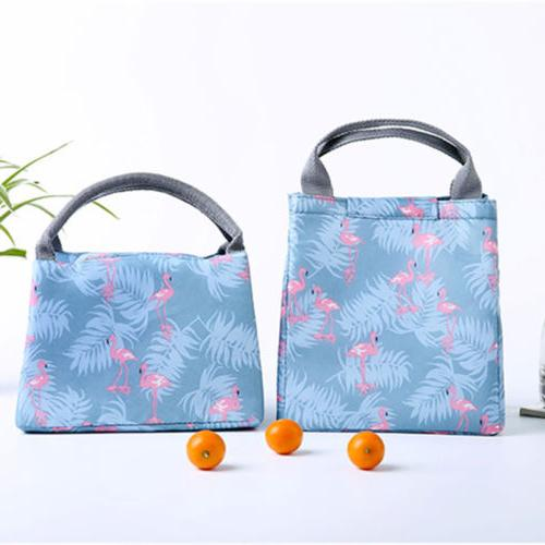 Lunch Bag Insulated Tote Travel Picnic Bag
