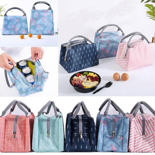 Lunch Bag Women Tote Thermal Cooler Travel Bag