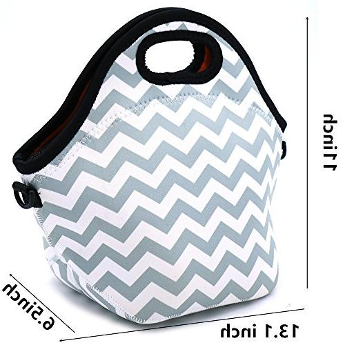 Orchidtent Water Portable Lunch Bag Carry Case Bags Picnic Outdoor Travel Fashionable Handbag Women Men Kids